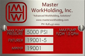 MWH Fixture Tag